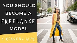 Who is a freelance model