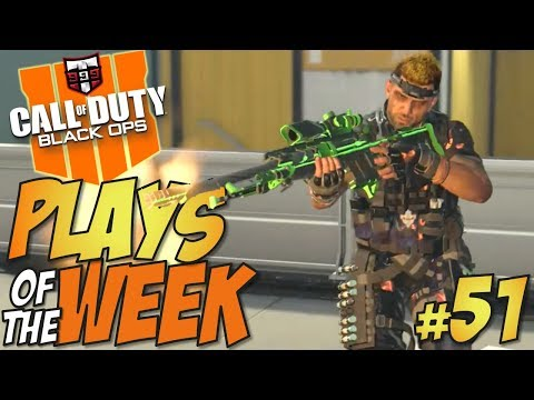 IMPOSSIBLE!! - Call of Duty Black Ops 4 - PLAYS OF THE WEEK #51 (COD BO4 Top Plays)