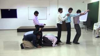 ROLE PLAY ACTIVITY DURING A TRAINING SESSION
