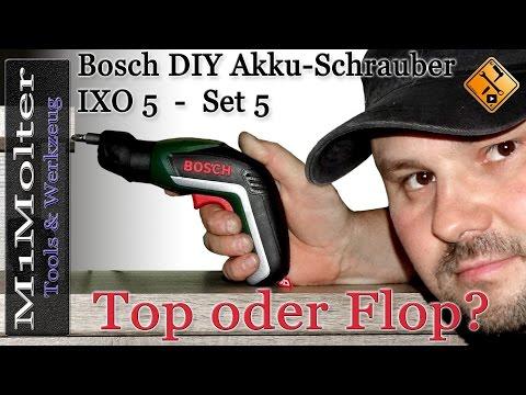 Bosch DIY Akku Schrauber IXO 5 / Top oder Flop? M1Molter