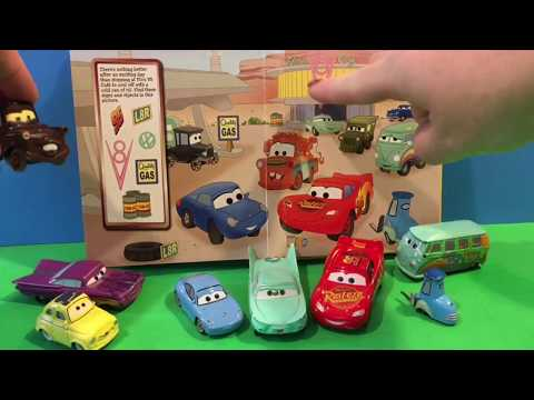 Disney Pixar's CARS Little First Look And Find Story Book Read Along