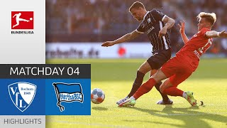 VfL Bochum 1-3 Hertha Berlin Pekan 4