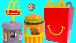 Happy Meal Surprise ! Shopkins Petkins Cutie Cars McDonalds Drive Thru