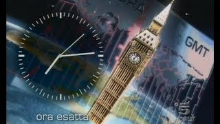 Canale 5 - Ora Esatta 2006-13 (Tg5 Prima Pagina) #720p50HD