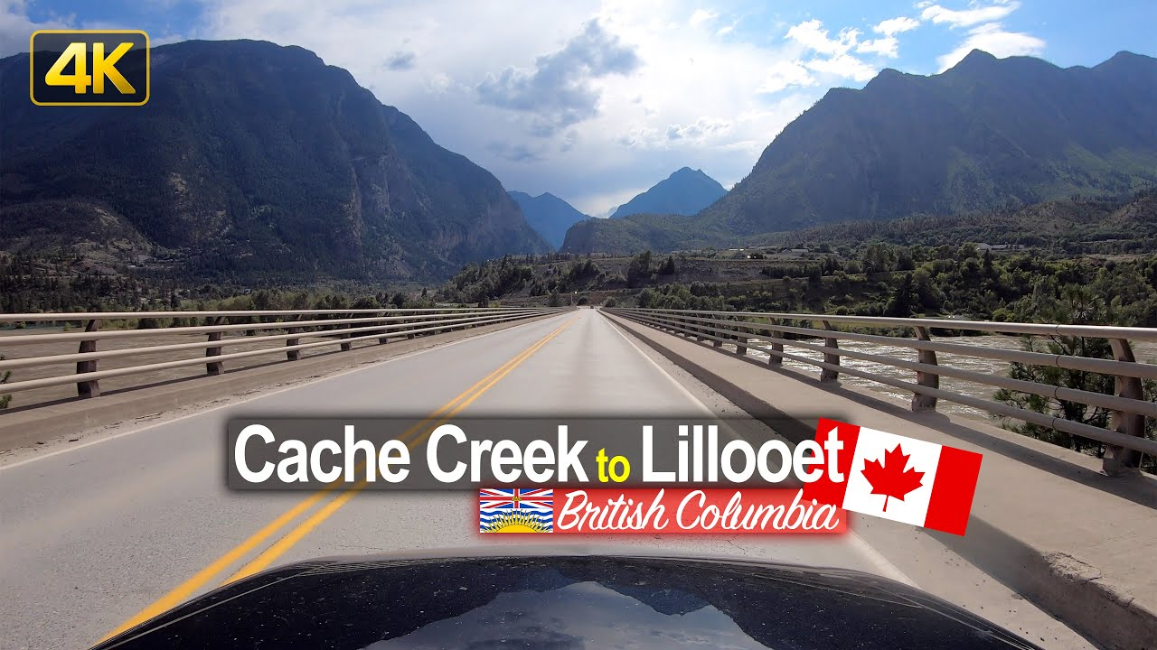 Driving from Cache Creek to Lillooet | British Columbia Canada