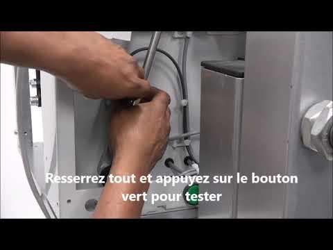 AXRO FQC2: La machine continue de fonctionner pendant plus d'un cycle