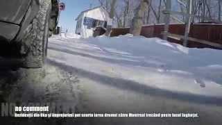 preview picture of video 'Ice Bridge near Oka, Quebec'