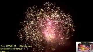 """Салют STAR WARS GWM6122 Выстрелов: 120; Высота: до 40м; Время: 1:50мин Видео. от компании Круглосуточный магазин фейерверков """"Кайман"""" Крым - видео"""