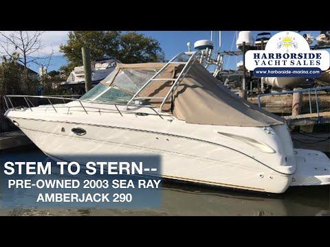 Sea Ray Amberjack 290 video