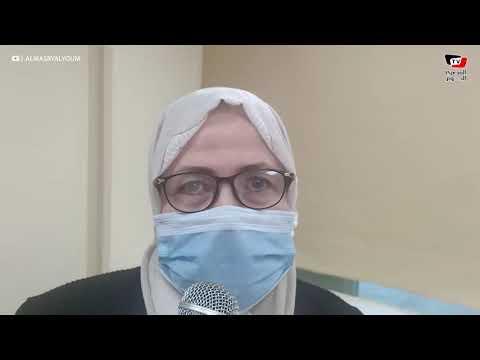 أول مواطنة تحصل على تطعيم كورونا في الإسماعيلية: «تعالوا خدوا اللقاح متخافوش»