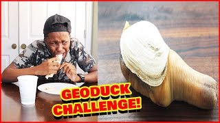 The Sea Dingaling Challenge! (Geoduck Punishment)