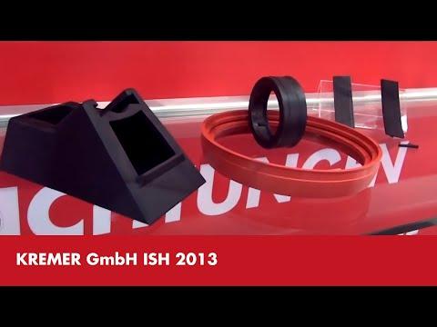 Kremer GmbH ISH 2013 - Urimat mit Formteilen und Stanzteilen aus Kunststoff