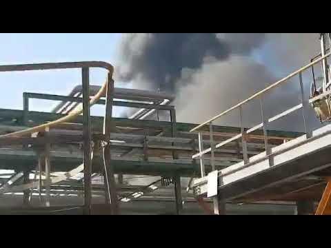 حريق تلا انفجارا في مجمع للبتروكيماويات في إيران