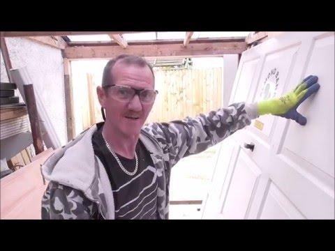 How to fit a Garage Door