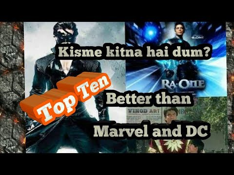 TOP 10 INDIAN SUPERHEROES