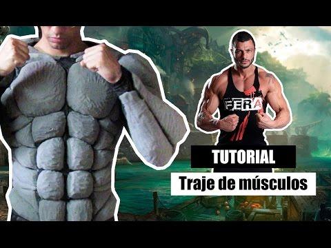 D.I.Y Como fazer uma roupa de músculos para cosplay - Kmaker tutorial