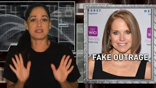 Katie Couric decries fake news while being sued for faking it herself