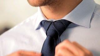 How to Tie a Merovingian Knot | Men's Fashion