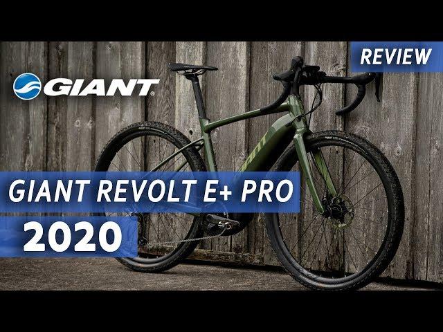 Видео Велосипед Giant Revolt E+ Pro 25km/h Metallic Army/Olive