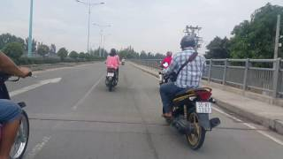 Cầu Kênh Tẻ,Nguyễn Hữu Thọ,Sài Gòn, Trưa Mùng 7, Tết Đinh Dậu