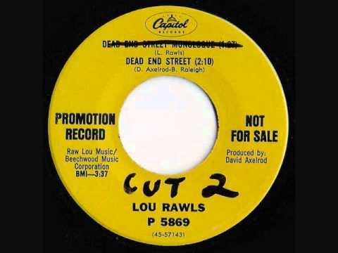 "Lou Rawls - "" Dead End Street """