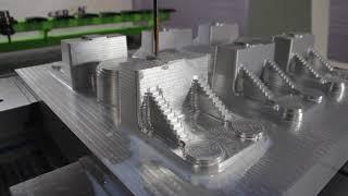 Obróbka aluminium – Centrum Obróbcze CNC do metalu HardLine SERON
