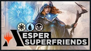 Esper Superfriends | War of the Spark Standard Deck (MTG Arena)