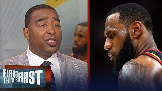 Cris Carter reveals why LeBron James is now going to LA Lakers | NBA | FIRST THINGS FIRST