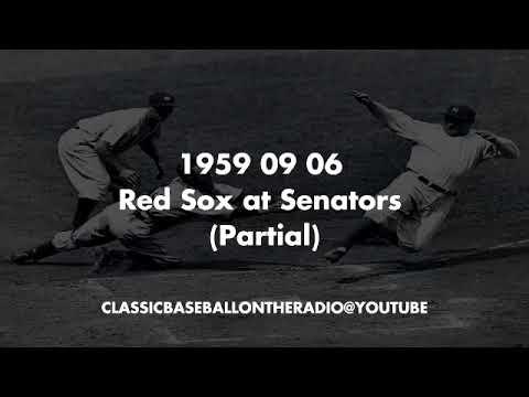 1959 09 06 Red Sox at Senators Partial