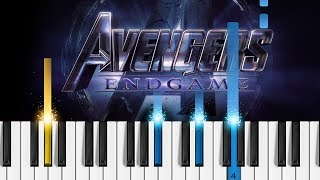 avengers endgame theme song piano notes - TH-Clip