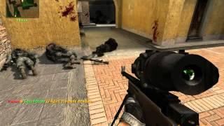 1 Раунд против экспертов в Counter-Strike Source