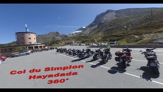Col du Simplon - Yi 360 VR - Video 360
