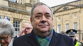 video: Alex Salmond charged with attempting to rape woman in First Minister's official residence