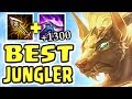 NEW NASUS IS AN ABSOLUTE MONSTER 1300 STACKS 1v9 JUNGLE BEST JUNGLER IN THE GAME
