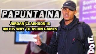 PAPUNTA NA SI JORDAN | Jordan Clarkson hindi aabot sa first game?