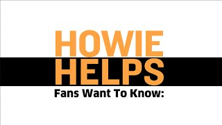 Howie Helps: What's The Secret To Winning?