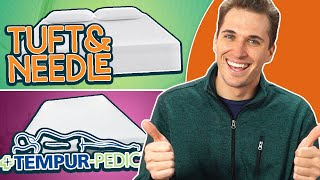 TempurPedic vs Tuft and Needle (#1 Mattress Review Guide)