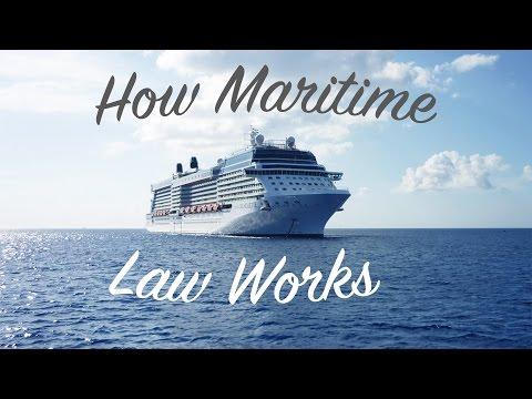 Jak funguje námořní právo?