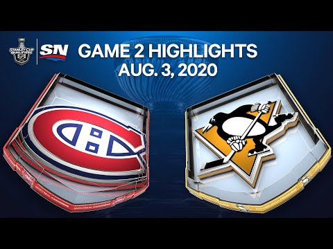 NHL Highlights | Canadiens vs. Penguins, Game 2 – Aug. 3, 2020