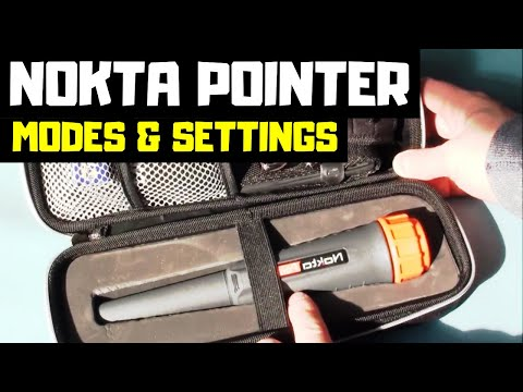Nokta Pointer - Modes and Settings