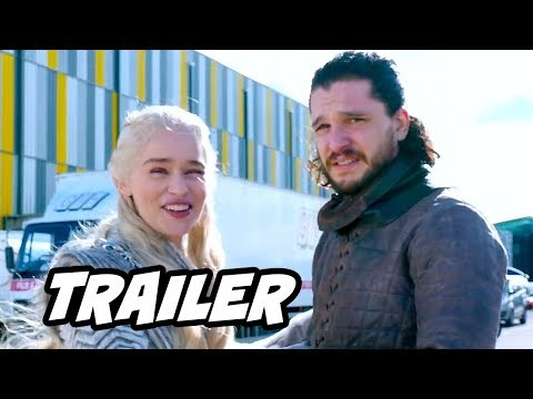 Game Of Thrones Season 8 Parody Trailer - Jon Snow Daenerys and Filming Update