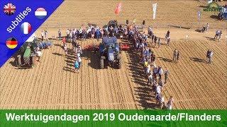 Werktuigendagen – International working days 2019 in Oudenaarde/Flanders