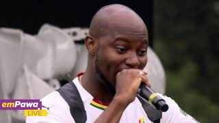 EmPawa Live King Promise (Ghana) At Ghana Party In The Park