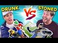 Drunk People Vs. Stoners Challenge (Mario Kart, IKEA, Building, Riddles)