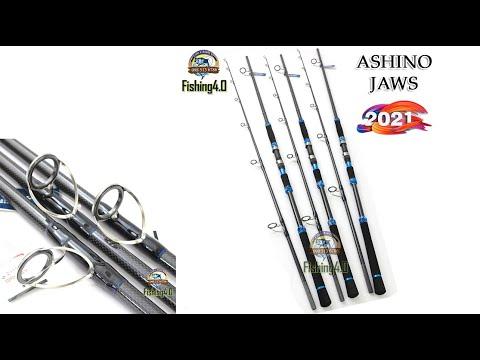Cần Câu Ashino JAWS - New 2021 - Phôi Carbon 3D Caro tuyệt đẹp - 3m0 3m2