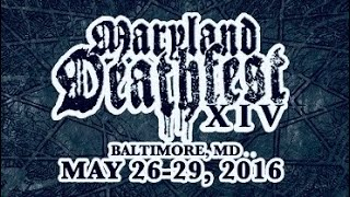 """EXCITER """"Live in Maryland Deathfest XIV"""" May./28/2016"""