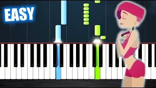 David Guetta Feat Anne Marie   Don't Leave Me Alone   EASY Piano Tutorial By PlutaX