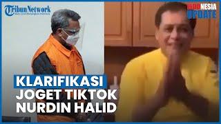 Viral Nurdin Halid Joget TikTok Disebut Senang Gubernur Sulsel Ditangkap KPK, Ini Klarifikasinya