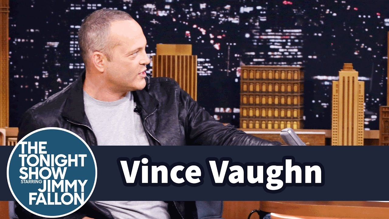 Vince Vaughn and Jimmy Compare Childhood Halloween Tricks and Treats thumbnail