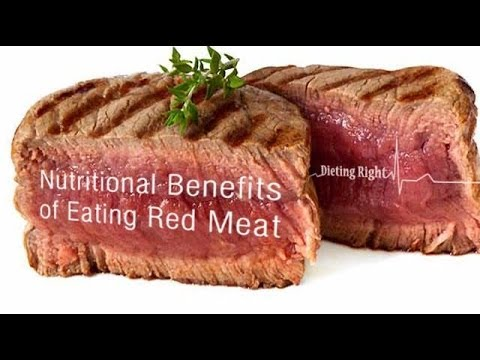 Video Nutritional Benefits of Eating Red Meat